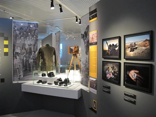 Mémorial de Verdun - expo photographes de guerre